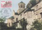 Carte  Maximum  1er  Jour   Eglise  Abbatiale  AUBAZINE    1978 - Eglises Et Cathédrales