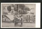 AK Viktring, Gasthaus Zum Sponheimer V. A. Eichmayer, Gemeindehaus U. Alte Post, Ortspartien, Schwäne - Österreich