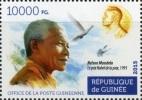 Guinee 2015 Nelson Mandela Nobel Peace Prize 1v Stamp Mint 313 - Famous People