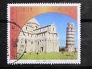 ITALIA USATI 2002 - RICCIONE 2002 PISA PATRIMONIO MONDIALE UNESCO - SASSONE 2645 - RIF. G 2154 - 1^ SCELTA - 6. 1946-.. Repubblica