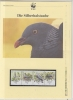 Madeira 1991   WWF / Pigeons  4v ** Mnh With 3 Leaflets With Information About The Issue (W530) - W.W.F.
