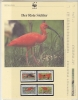 Trinidad & Tobago 1990 WWF /  Scarlet Ibis  4v ** Mnh With 3 Leaflets With Information About The Issue (W531) - W.W.F.