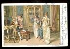 L. Schmutzler - Weiblicher Ubermut / Year 1899 / Old Postcard Circulated - Schmutzler, L.