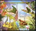 ROMANIA 2003 Reptiles And Amphibians Block MNH / **.  Michel Blocks 334 - Blocs-feuillets