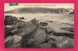 62 PAS-de-CALAIS CAP GRIS-NEZ, Les Rochers De La Plage, Enfant, 1910, Tampon, (L. D. B.) - Unclassified