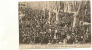 34/ Pezenas - Fete De La Charité Du 19 Mars 1911 - Grenouilles Au Soliel Et Les Géants , Place Du XIV Juillet - N°118 Pe - Pezenas