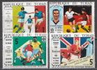 Chad MNH Football Set, World Cup Mexico 1970 - Fußball-Weltmeisterschaft