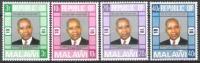 Malawi 1976 Geschichte Unabhängigkeit Republik Persönlichkeiten Präsidenten Hastings Kamuzu Banda, Mi. 263-6 ** - Malawi (1964-...)