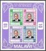 Malawi 1976 Geschichte Unabhängigkeit Republik Persönlichkeiten Präsidenten Hastings Kamuzu Banda, Bl. 44 ** - Malawi (1964-...)