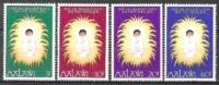 Malawi 1976 Religion Christentum Feiertage Weihnachten Christmas Jesuskind Krippen Cribs, Mi. 273-6 ** - Malawi (1964-...)