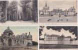 LOT  DE  19    CPA   DU   CHÂTEAU  DE  CHANTILLY   -  Toutes Scanées - Cartes Postales