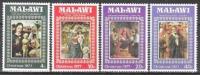 Malawi 1977 Religion Christentum Feiertage Weihnachten Christmas Kunst Kultur Gemälde Bergognone Eyck, Mi. 289-2 ** - Malawi (1964-...)