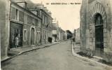 Cher ASNIERES Rue Danton Cachet 2  Scans .....G - Autres Communes