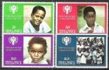Malawi 1979 Organisationen Vereinte Nationen UNO ONU Kinderhilfswerk UNICEF Jahr Des Kindes Children, Mi. 328-1 ** - Malawi (1964-...)