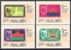 Malawi 1979 Postgeschichte Philatelie Philately Briefmarken Persönlichkeiten Rowland Hill Flaggen Wappen, Mi. 332-5 ** - Malawi (1964-...)