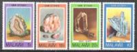 Malawi 1980 Wirtschaft Bergbau Mineralien Edelsteine Achat Sonnenstein Rauchquarz Cyanidkristalle, Mi. 348-1 ** - Malawi (1964-...)