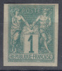 France Colonies General Issues 1877 Yvert#24 Mint Hinged