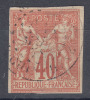 France Colonies General Issues 1877 Yvert#27 Used