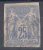 France Colonies General Issues 1877 Yvert#36 Used