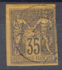 France Colonies General Issues 1878 Yvert#45 Used