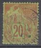 France Colonies General Issues 1881 Yvert#52 Used