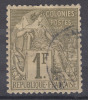 France Colonies General Issues 1881 Yvert#59 Used