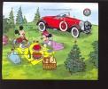 GAMBIA   937 MINT NEVER HINGED SOUVENIR SHEET OF DISNEY  ; CHRISTMAS ; CLASSIC AUTOMOBILES   #  151-2  ( - Disney
