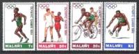 Malawi 1984 Sport Spiele Olympia Olympics Olympische Sommerspiele Los Angeles Boxen Radfahren Laufen, Mi. 428-1 ** - Malawi (1964-...)
