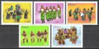 Malawi 2013 Kultur Brauchtum Folklore Volkstänze Tanz Tänze Kostüme Dancing, Mi. 868-2 ** - Malawi (1964-...)