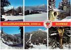 CPM AUTRICHE TYROL SCHWAZ - Kellerjochbann - Multivues - Schwaz