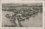 Lyck, Hauptstadt Der Masuren, Schlossinsel, Bunelka, Postkarte, Ostpreussen - Ostpreussen