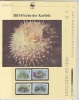 Antigua & Barbuda 1987  WWF /  Riff Fishes  4v ** Mnh With 3 Leaflets With Information About The Issue (W552) - W.W.F.