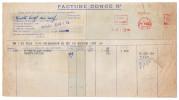 1953--IVRY -- Vins Du POSTILLON--Facture + Congé---camion BERLIET - Food