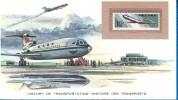 History Of Transportation / Histoire Des Transports 101 /  Aviation CAAC - Transport