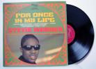 Stevie Wonder - LP 33tr : For Once In My Life (Pressage : FR - 1968) - Soul - R&B