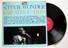 Stevie Wonder - LP 33tr : Greatest Hits (Pressage : FR - 1968) - Soul - R&B