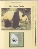 China P.R. 1985  WWF /  Geant Panda M/s ** Mnh With 3 Leaflets With Information About The Issue (W559) - Unused Stamps