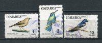 Costa Rica Nr.1214, 1216 + 1217         O  Used       (051) - Costa Rica