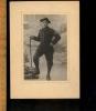 Photographie Militaire Soldat Chasseur Alpin 13 Eme BCA ? Devant Décor De Montagne Baïonnette - Guerre, Militaire