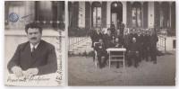 Lotto Bulgaria. Due Fotografie Del Primo Ministro Aleksandar Stambolijski. S.d. (anni '20). - Foto