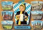 Mnt280 Airport Airplane Aircraft Avion Munchen Germany Car Tram Tramway Child - Aerodromi