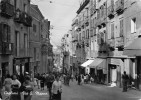 """03571 """"CAGLIARI - VIA G. NANNO"""" ANIMATA CART.  SPED. 1958 - Cagliari"""
