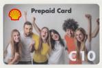 Shell - 10 € - Geschenkkarte/Giftcard  -   Gebraucht / Leer  !!!!! ( 439 ) - Gift Cards