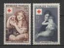 France (1954) Yv. 1006/07  /  Rotes Kreuz - Red Cross - Croix Rouge - Cruz  Roja - Croce Rossa - Rode Kruis