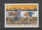 TIMBRE NEUF DE BELGIQUE - JEU DE BOULES N° Y&T 3150