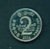 SRI LANKA  -  2006  2r  Circulated Coin - Sri Lanka