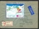 1972. REGISTERED  AIR MAIL COVER GDANSK--BROOKLYN  N.Y.  U.S.A. - Airmail