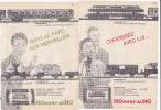 Pub.1961 HOrnby-acHo Jouets Dinky Toys Meccano  Trains Locomotives Wagons. Documentation..Lot De 6  TBE - Publicités