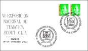 Exposicion Nacional SCOUT-GUIA. Madrid 2001 - Movimiento Scout