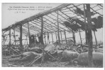 (54) - Guerre 14 - Sur Le Front, Effets D'un Obus Sur Un Hangar à Chevaux. B. état, Corresp. Dos. - Frankrijk